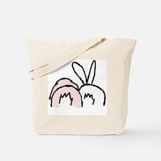 Cool Rabbits Tote Bag