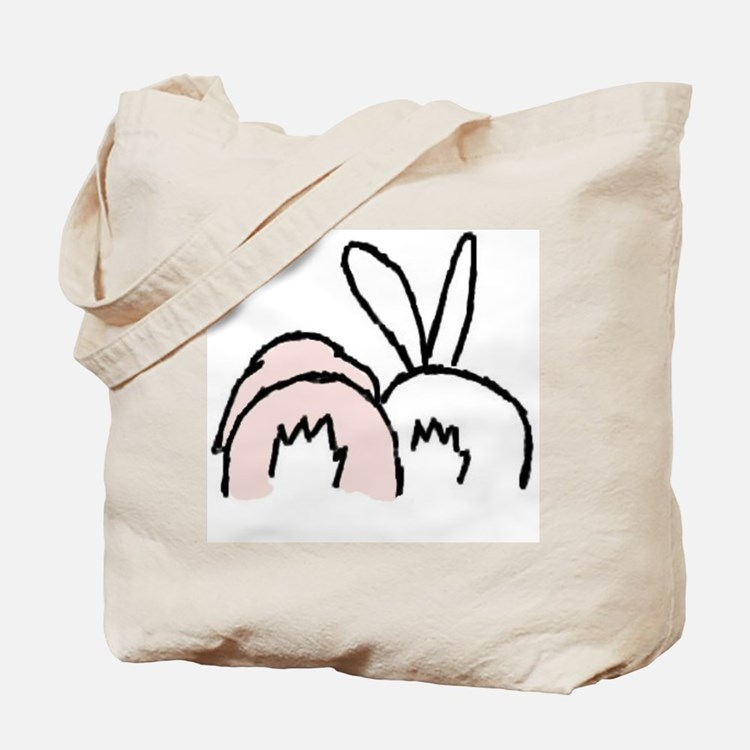 Cute Bunny rabbit Tote Bag