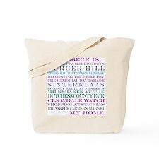 Rhinebeck is my home. Tote Bag