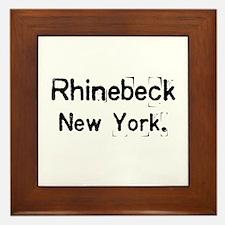 simply Rhinebeck New York Framed Tile