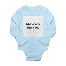 simply Rhinebeck New York Long Sleeve Infant Bodys