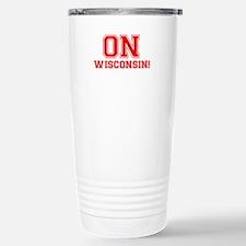 On Wisconsin Travel Mug
