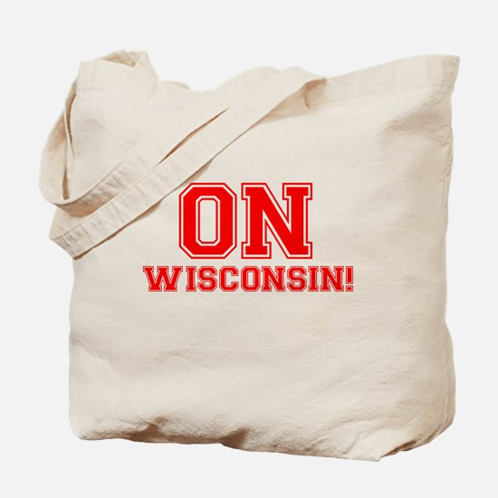 On Wisconsin Tote Bag