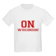On Wisconsin Kids Light T-Shirt