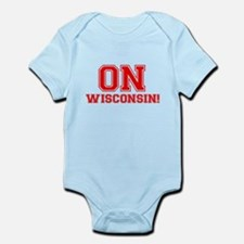 On Wisconsin Infant Bodysuit