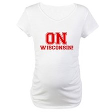 On Wisconsin Maternity T-Shirt