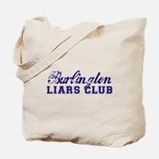 Burlington Liars Club Tote Bag