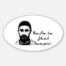 "Zarqawi ""Che"" Shirt Oval Decal"