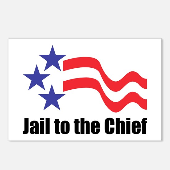 Jail to the Chief Postcards (Package of 8)