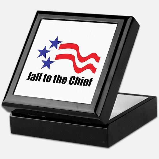 Jail to the Chief Keepsake Box