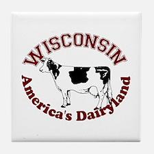America's Dairyland Tile Coaster