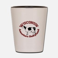 America's Dairyland Shot Glass