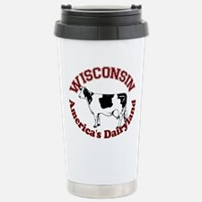 America's Dairyland Stainless Steel Travel Mug