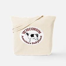America's Dairyland Tote Bag