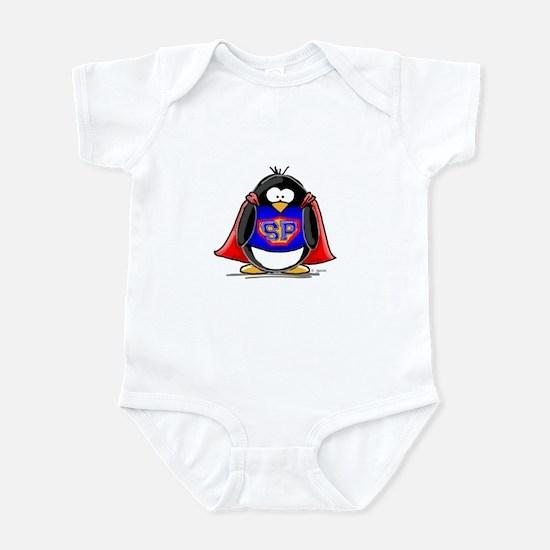 Superhero penguin Infant Creeper