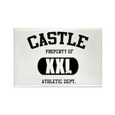 Castle Rectangle Magnet