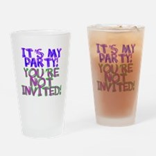 It's My Party! Drinking Glass