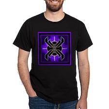 Naumaddic Arts Logo - Purple - T-Shirt