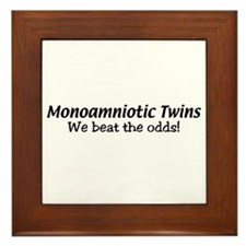 Monoamniotic Twins Framed Tile