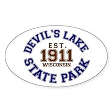 Devil's Lake State Park Decal