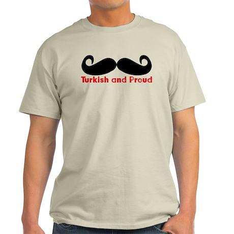 Turkish and Proud! Light T-Shirt