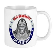 Sasquatch For President Mug