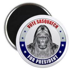 Sasquatch For President Magnet