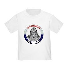 Sasquatch For President T