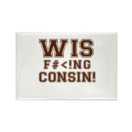Wis-effing-consin! Rectangle Magnet