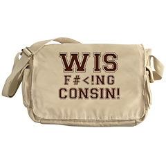 Wis-effing-consin! Messenger Bag