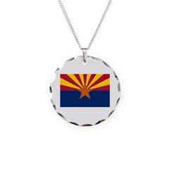 Arizona State Flag Necklace