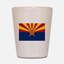 Arizona State Flag Shot Glass