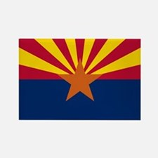 Arizona State Flag Rectangle Magnet