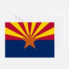Arizona State Flag Greeting Card