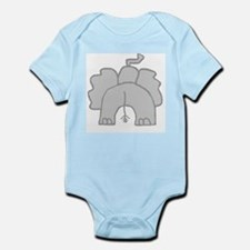 Elephant Butt Infant Creeper