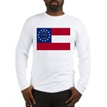 Georgia State Flag Long Sleeve T-Shirt