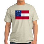 Georgia State Flag Light T-Shirt