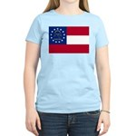 Georgia State Flag Women's Light T-Shirt