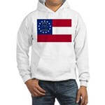 Georgia State Flag Hooded Sweatshirt