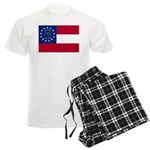 Georgia State Flag Men's Light Pajamas
