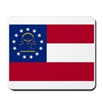 Georgia State Flag Mousepad