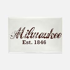 Milwaukee, est. 1846 t-shirts Rectangle Magnet