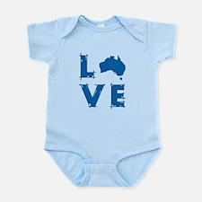 Love Australia Infant Bodysuit