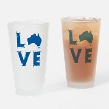 Love Australia Drinking Glass