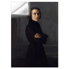 Portrait of Franz Liszt (1811 86) 1839 (oil on can Wall Decal