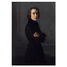 Portrait of Franz Liszt (1811 86) 1839 (oil on can