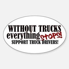 Trucker Support Decal