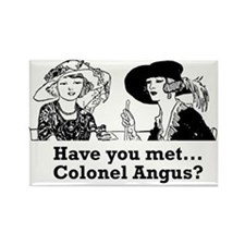 Colonel Angus Rectangle Magnet