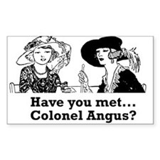 Colonel Angus Decal