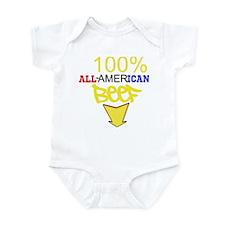 Cute American beef Infant Bodysuit